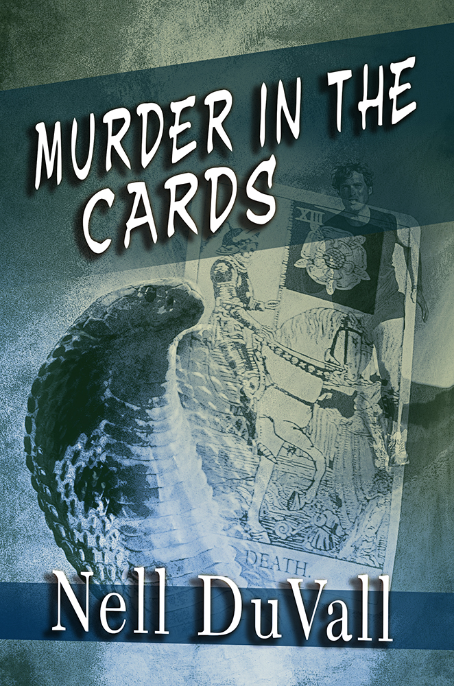 Murder In The Cards - Book Cover by SBibb