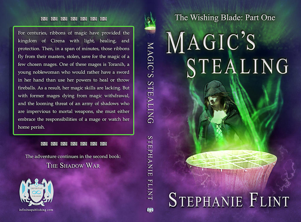 Magic's Stealing - Wraparound Cover