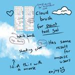 Cloud Pen for Paint tool sai