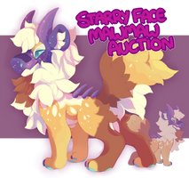 MawMaw Auction : Starry face (CLOSED) by Ponacho