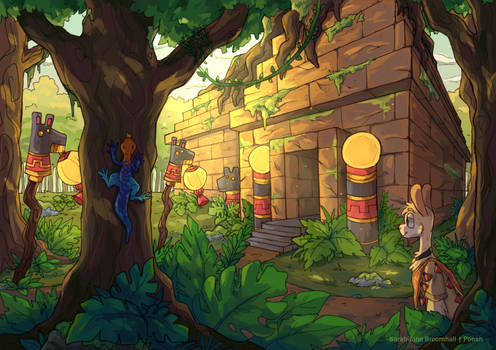 Paka's jungle temple