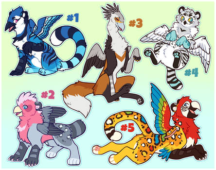 Gryphon adopts (closed)