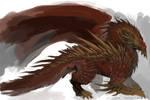 Speedpaint: Spiked Dragon