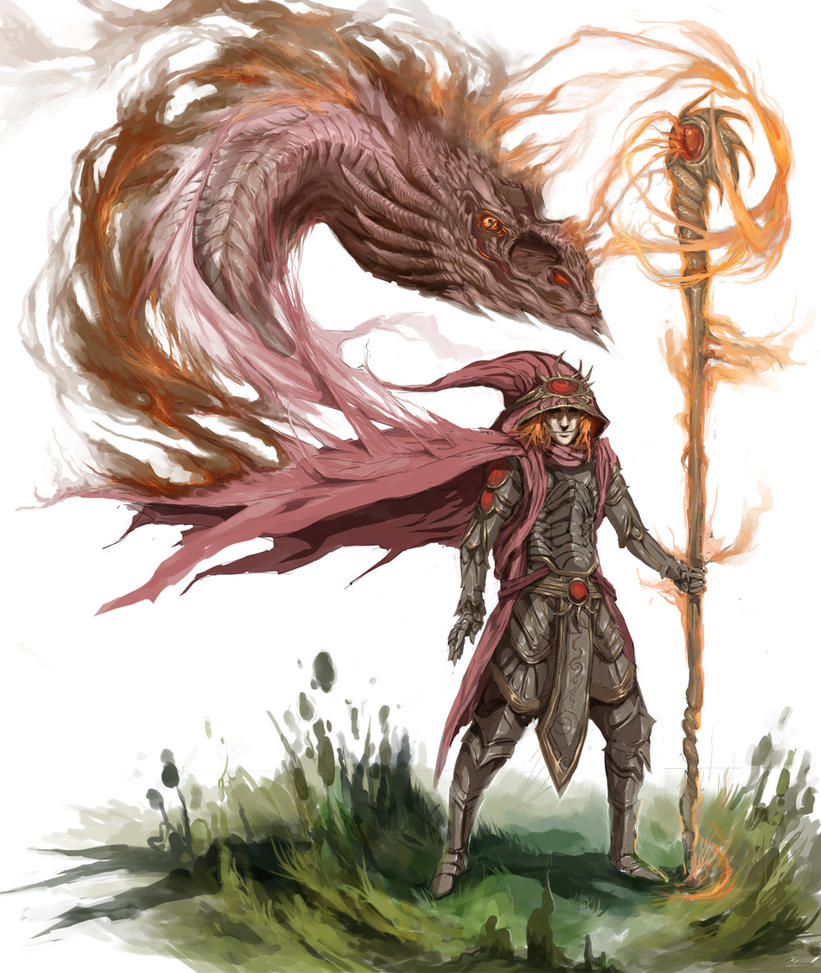Fantasy Earth Zero - Sorcerer by DefiledVisions
