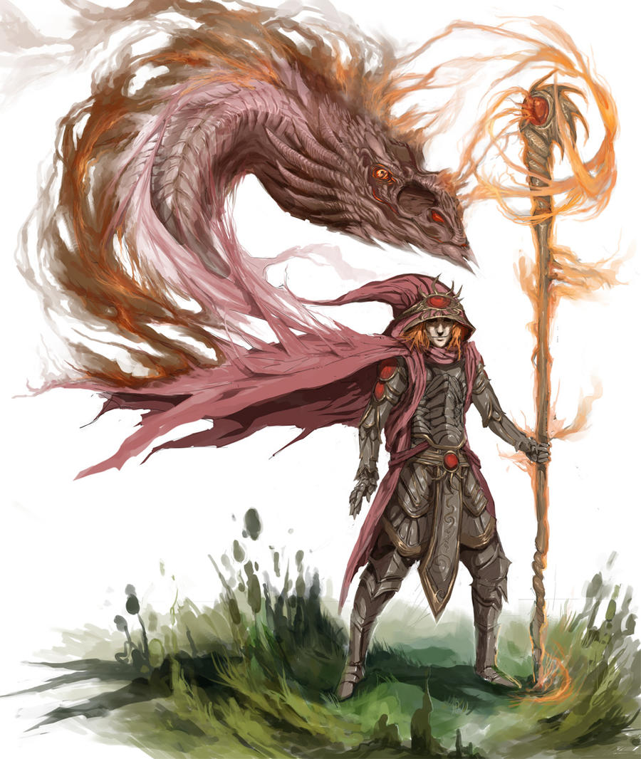 Fantasy Earth Zero - Sorcerer by DefiledVisions on DeviantArt