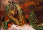 Psychedelic Dragon