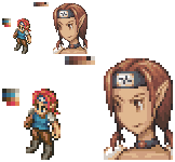 REQ: Layna in Final Fantasy Tactics Style by Ekoi