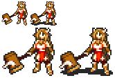 Mattie in Fire Emblem 7 Style by Ekoi