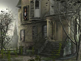 Halloween House by victoria-gv