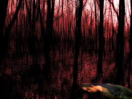Man dying in forest by victoria-gv