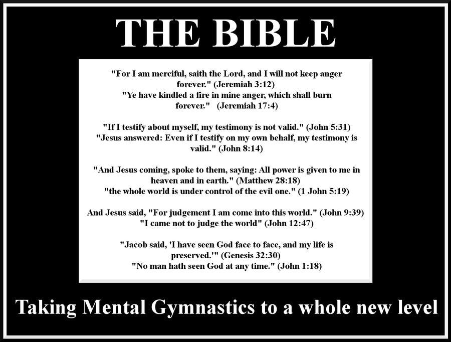 Mental Gymnastics by jackcomstock