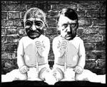 Gandhi and Hitler