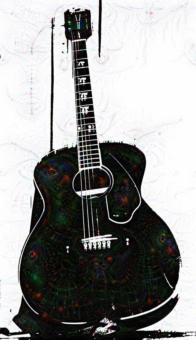 Musicians Best Friend (Google Dream Machine) by jackcomstock