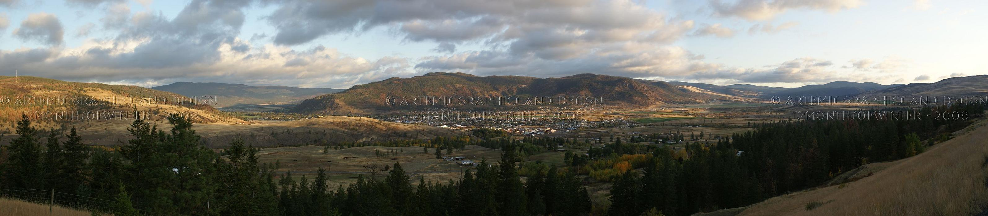 Merritt Morning Pano by 12monthsOFwinter