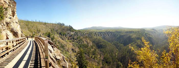 2014-09-06-pano-Myra-Canyon 1 by 12monthsOFwinter