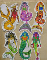 mermaid collection 1