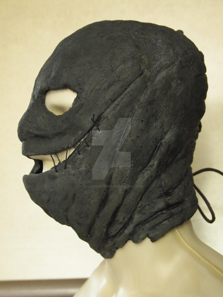 The Collector Mask latex mask side 2 by Fullmoon-rose