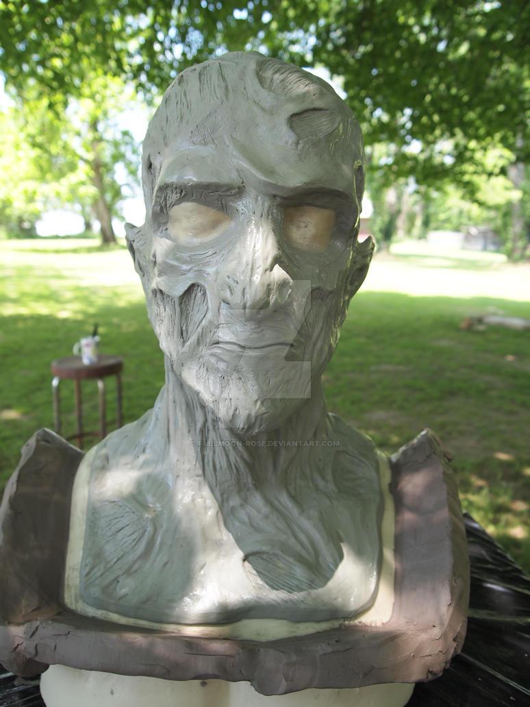 Freddy Kreuger sculpt 1 by Fullmoon-rose