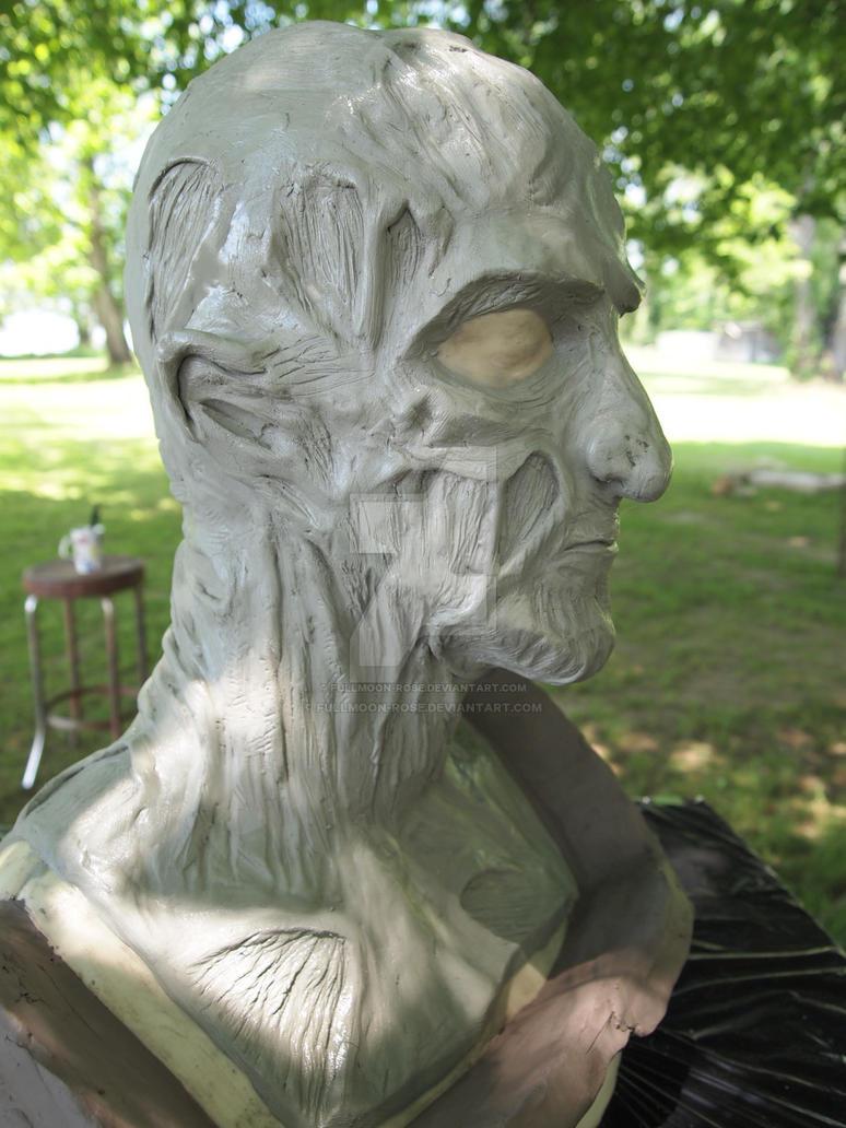 Freddy Kreuger sculpt 2 by Fullmoon-rose