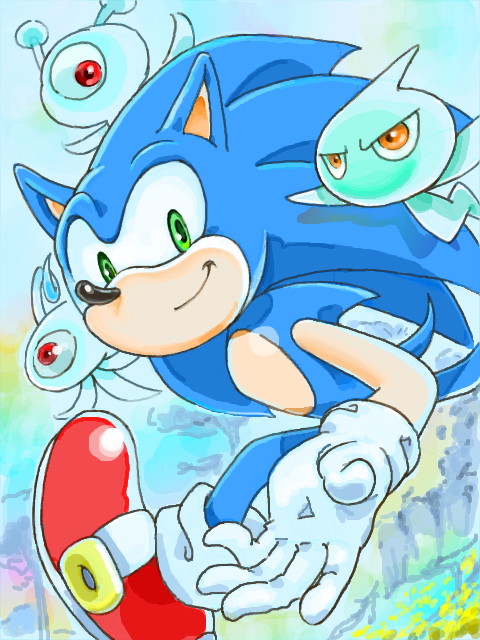 SONIC COLOURS by manaita