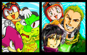 Team CHAOTIX 2up by manaita
