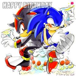 Happy birthday by manaita