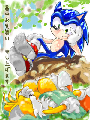 Tails has an afternoon nap by manaita