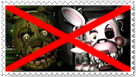 Anti Springtrap and Mangle Stamp by Stamps20
