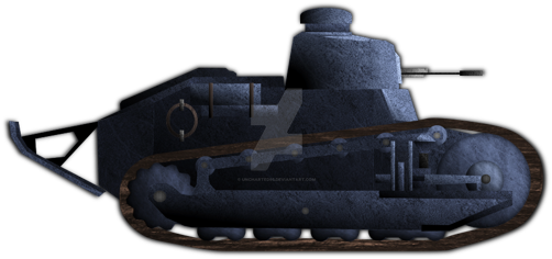 Renault FT by Uncharted95