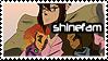 Stamps- Shinefam by corona-cody