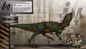 Metriacanthossauro by pauloomarcio