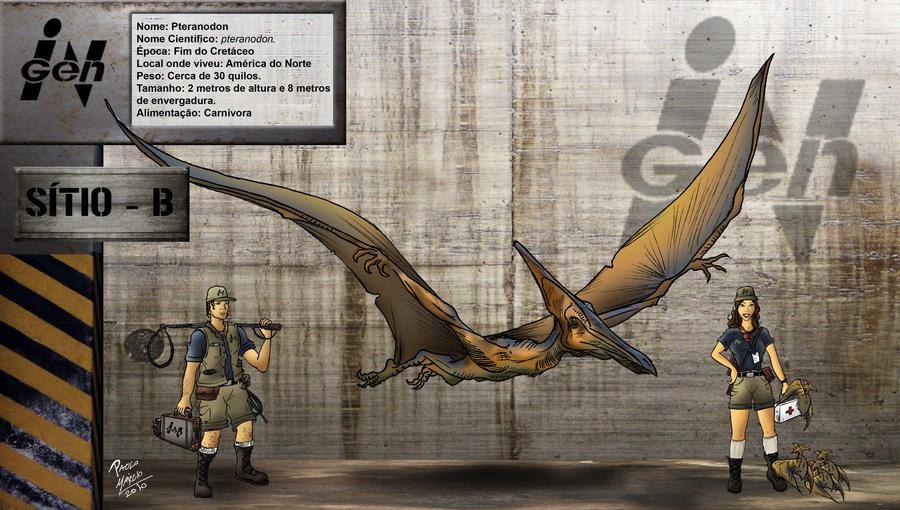 Pteranodon by pauloomarcio