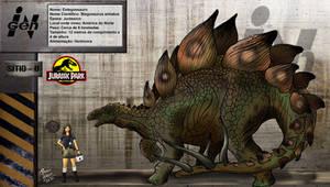 Estegossauro by pauloomarcio