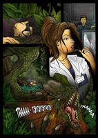 Jurassic Park Graphic Novel by pauloomarcio