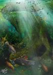 PURUSSAURUS - giant alligator