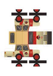 jeep wrangler of Jurassic Park