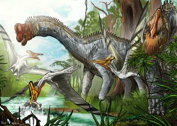 Europasaurus Paleo-Art Contest by pauloomarcio