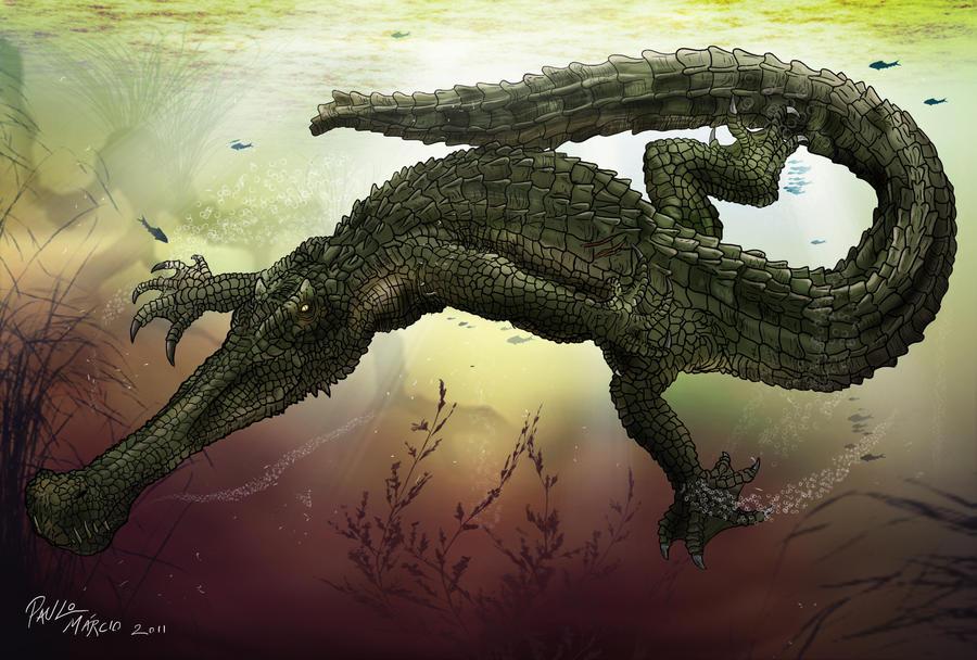 Gryposuchus croizati by pauloomarcio on DeviantArt