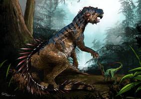 Psittacosaurus by pauloomarcio