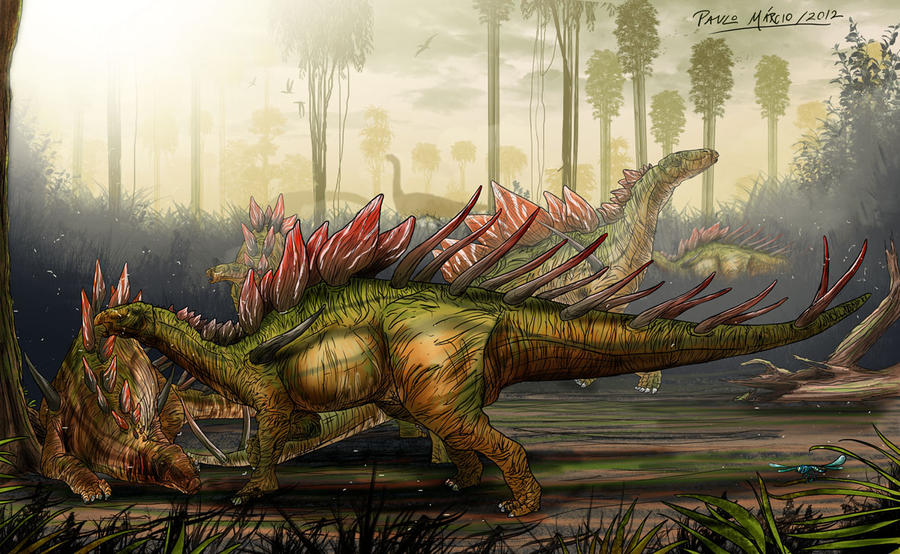 Kentrosaurus by pauloomarcio