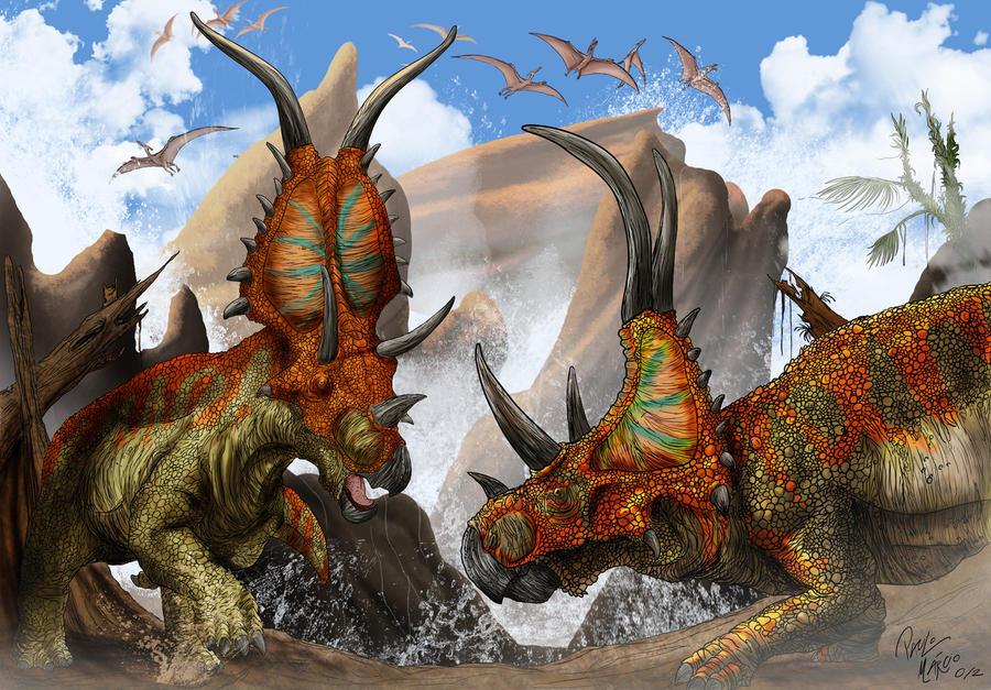Diabloceratops by pauloomarcio