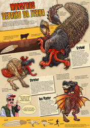 Tremors infographic (portuguese version) by pauloomarcio