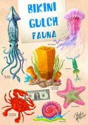 Bikini Gulch fauna by pauloomarcio