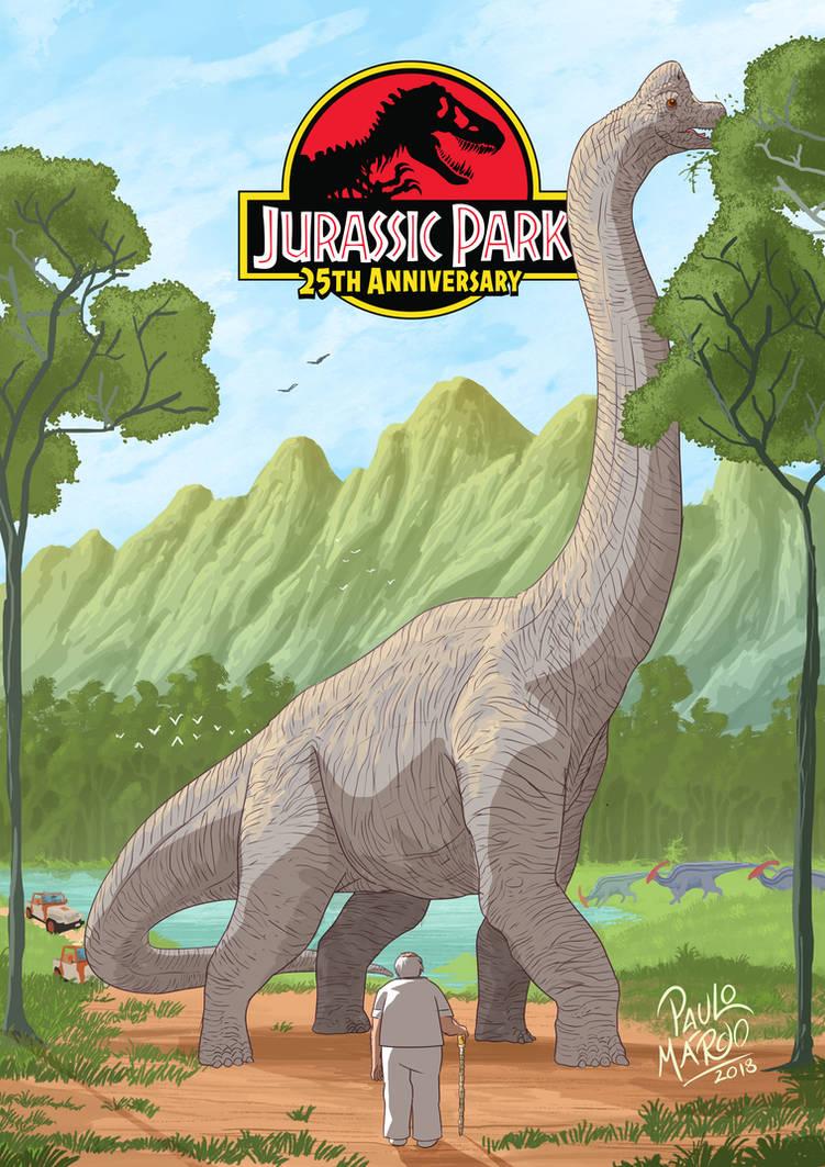 Jurassic Park 25th anniversary by pauloomarcio