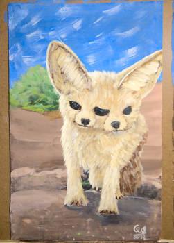 Diprosopus Fennec Fox