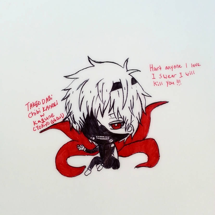 My Chibi Kaneki Ken Drawing By Takeodabi On DeviantArt