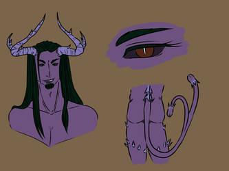 04-07-2019 Serpente demon self by CidSin