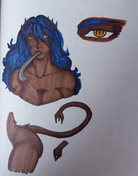 Hild - demon version by CidSin