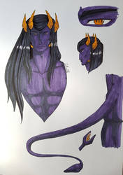Qharan - demon version by CidSin