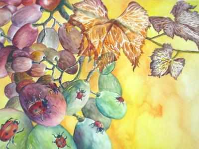 autumn hour-grape by vybration